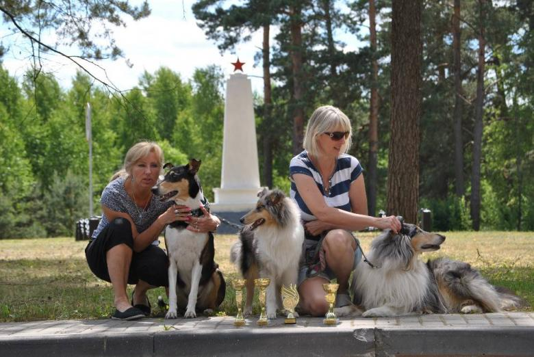 International dog show - two days in MINSK-Belorusia
